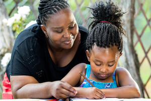 Family support helps children learn