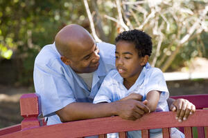 Focus on building your relationship with your child