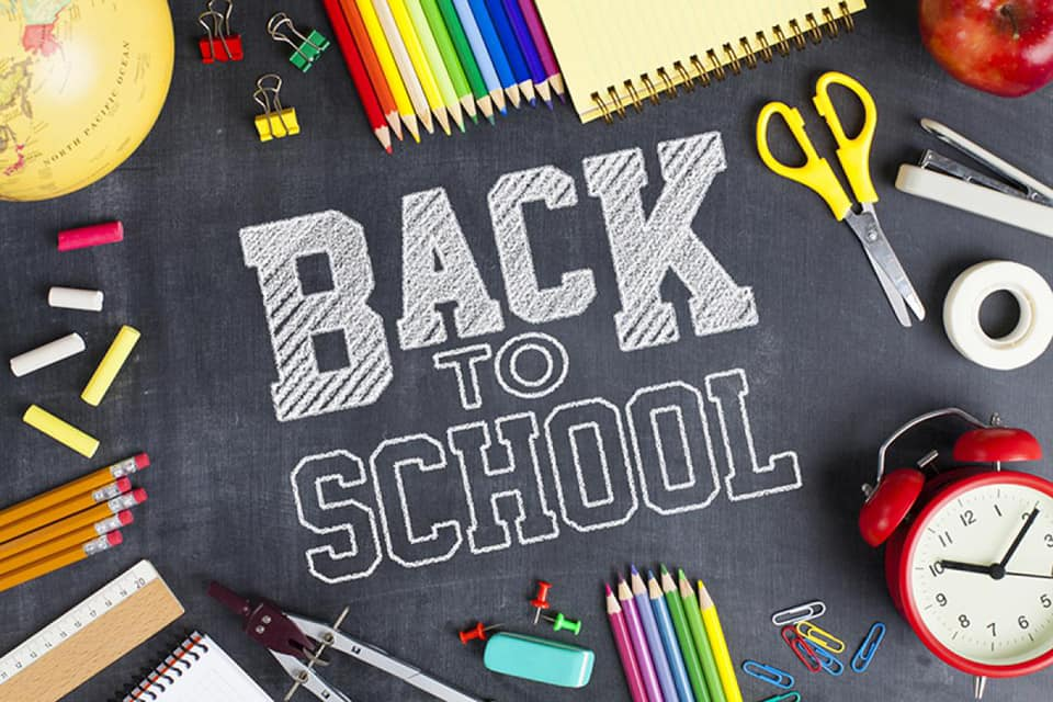 Get ready to go back to school!